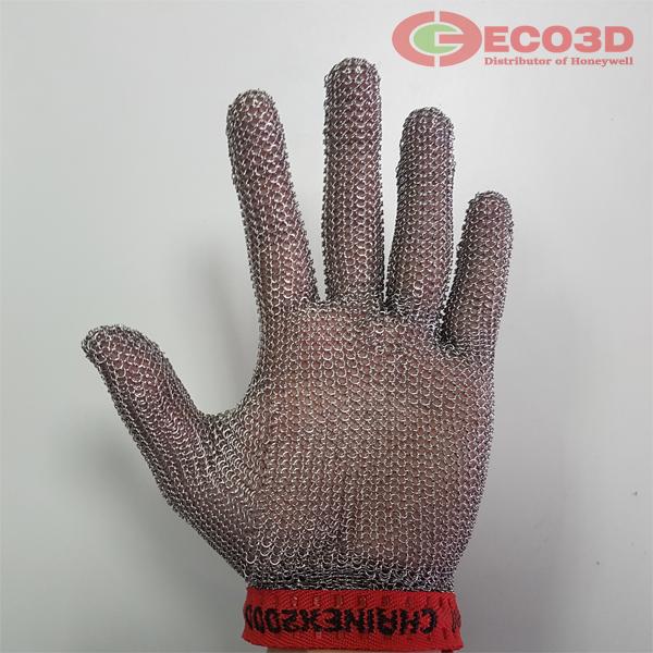 găng tay chống cắt sợi thép size 3