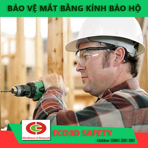kính bảo hộ chống bụi cho người lao động