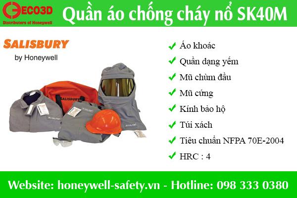 Quần áo chống hồ quang điện SK40