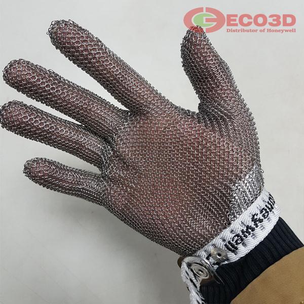 găng tay chống cắt sợi thép
