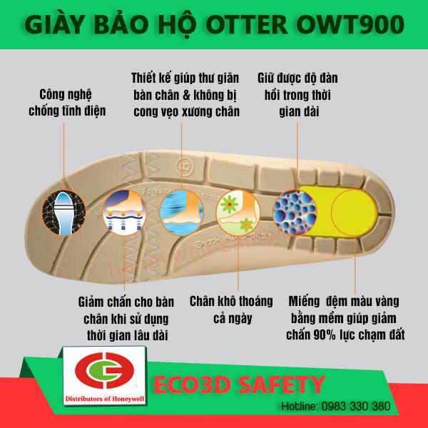 giày bảo hộ otter OWT900