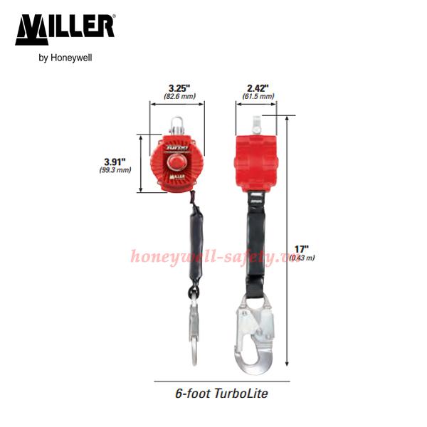 kích thước turbolite miller 6 foot