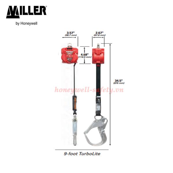 kích thước turbolite miller 9 foot