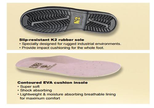 Lót giày K2
