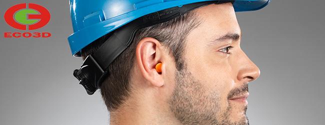 Sử dụng nút tai chống ồn để bảo vệ tai