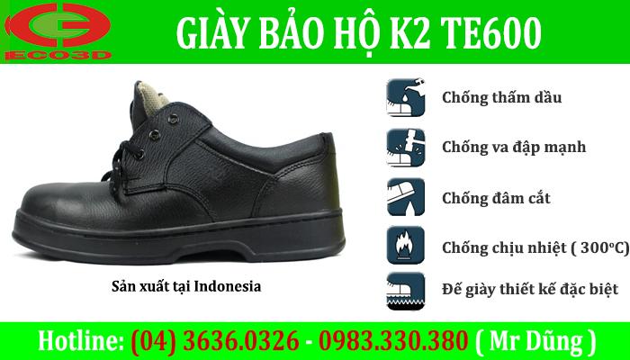 Giày bảo hộ K2 Te600